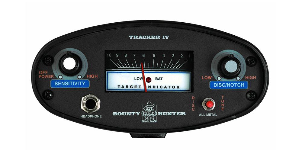 Detector de Metais Bounty Hunter Tracker IV    - Fortuna Detectores de Metais
