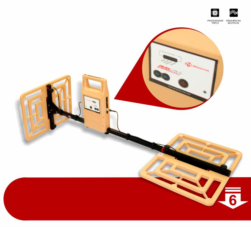 Detector de Metais DM Detectors AMX LIte