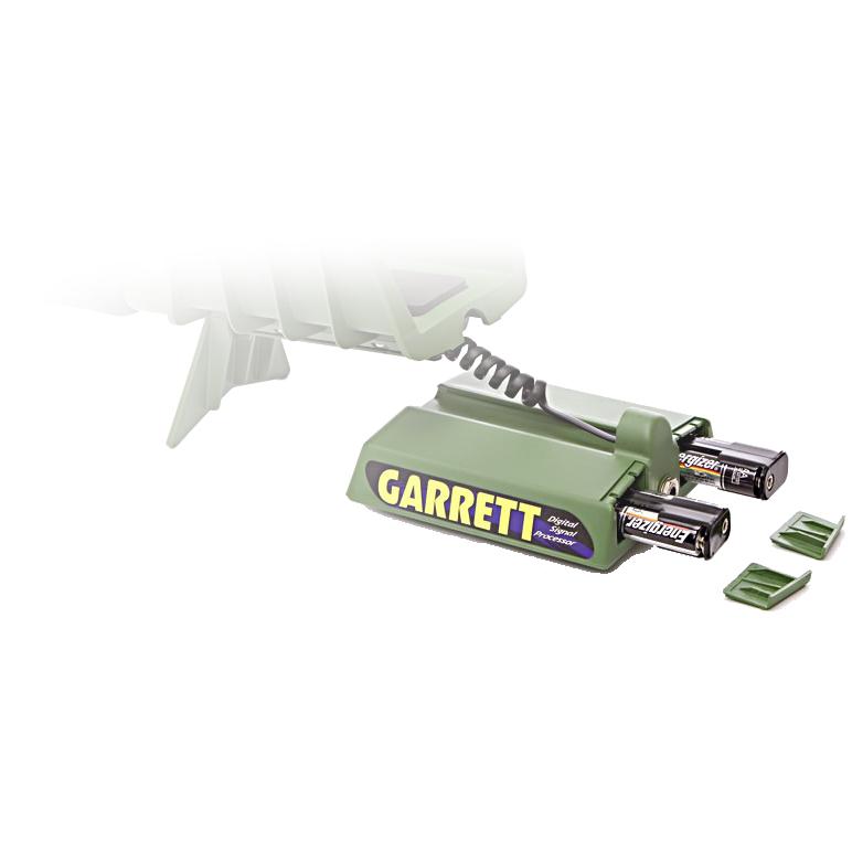 Detector de Metais Garrett GTI 2500 com bobina Treasure Hound (Olho de Águia)  - Fortuna Detectores de Metais