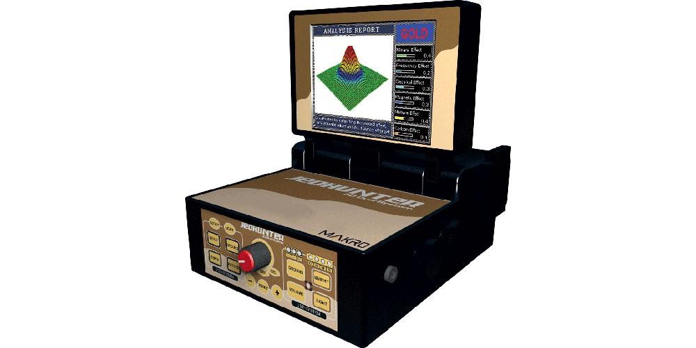 Detector de Metais Makro Jeohunter 3D Dual System Novo/Usado
