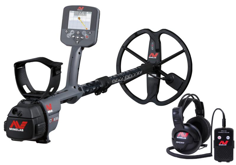 Detector de Metais Minelab CTX 3030 + Fone Submersível + Bobina 17 - SEMI NOVO