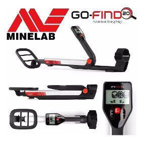 Detector de Metais Minelab GO-FIND 20  - Fortuna Detectores de Metais