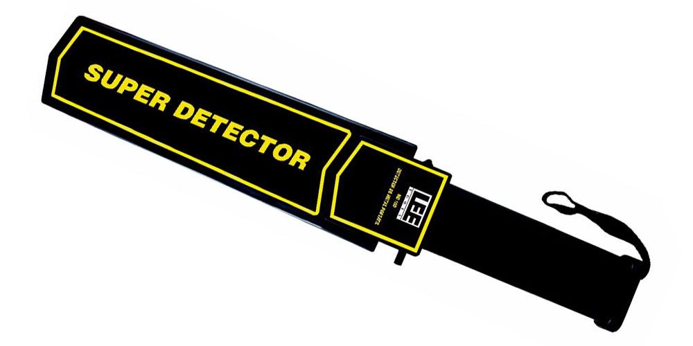 Detector de Metais Portátil MD100 recondicionado  - Fortuna Detectores de Metais