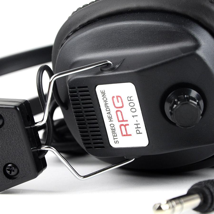 Fones de ouvido Minelab RPG  - Fortuna Detectores de Metais