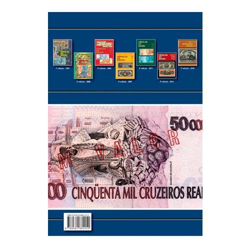 Livro  Cédulas do Brasil - 1833 a 2019 8º Edição  - Fortuna Detectores de Metais