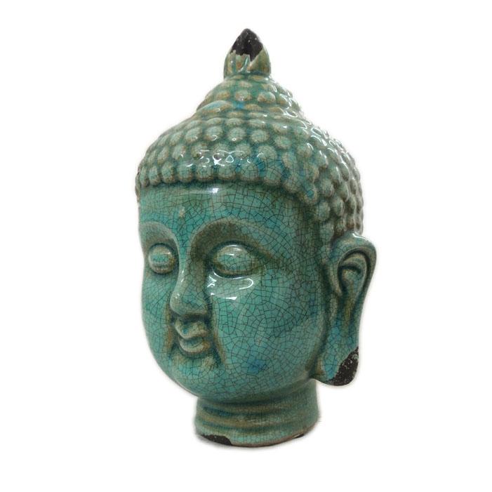Cabeça de Buda em Cêramica - Grande  - N Store