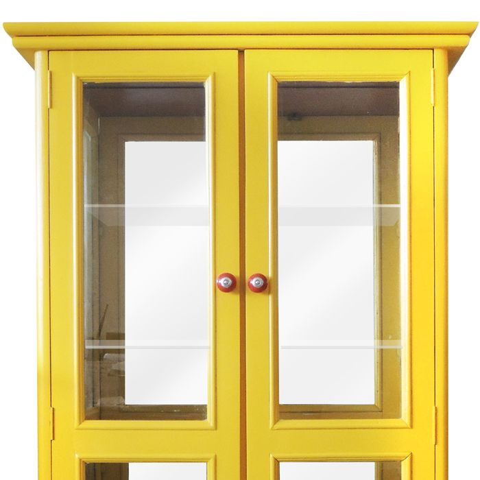 Cristaleira Vintage - Amarela   - N Store