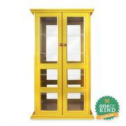 Cristaleira Vintage - Amarela