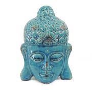 Cabeça de Buda Azul