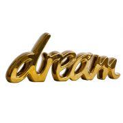 Dream - Palavra Decorativa em Cerâmica