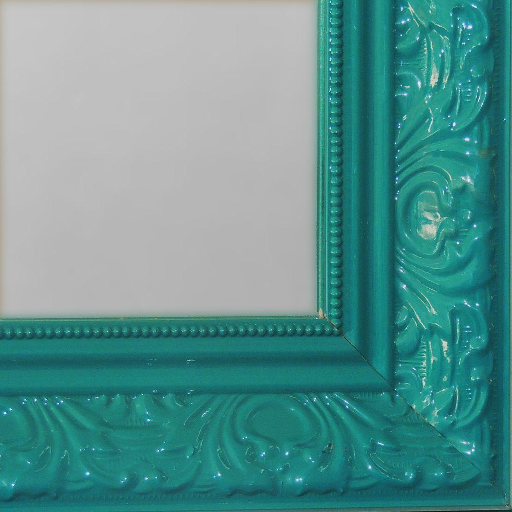 Espelho Grande com Moldura Verde  - N Store