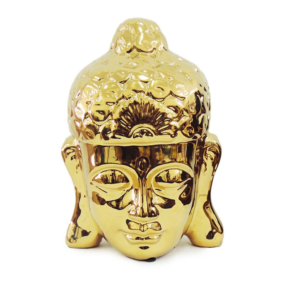 Cabeça Buda Dourada Grande  - N Store