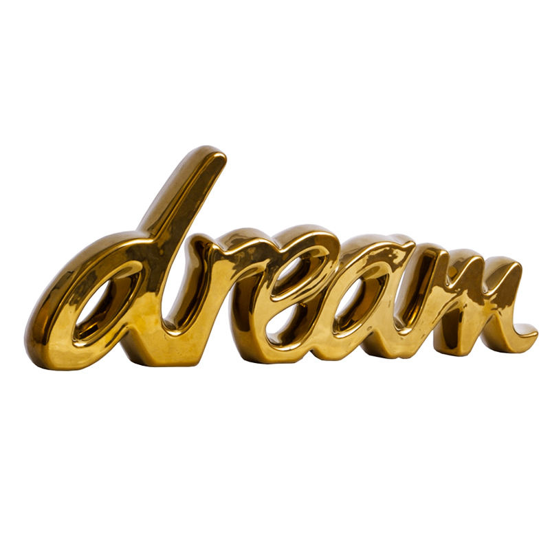 Dream - Palavra Decorativa em Cerâmica  - N Store