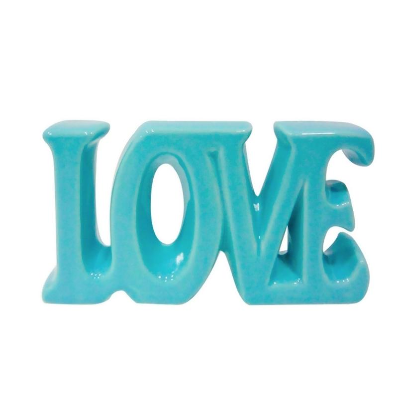 Love - Palavra Decorativa em Cerâmica  - N Store