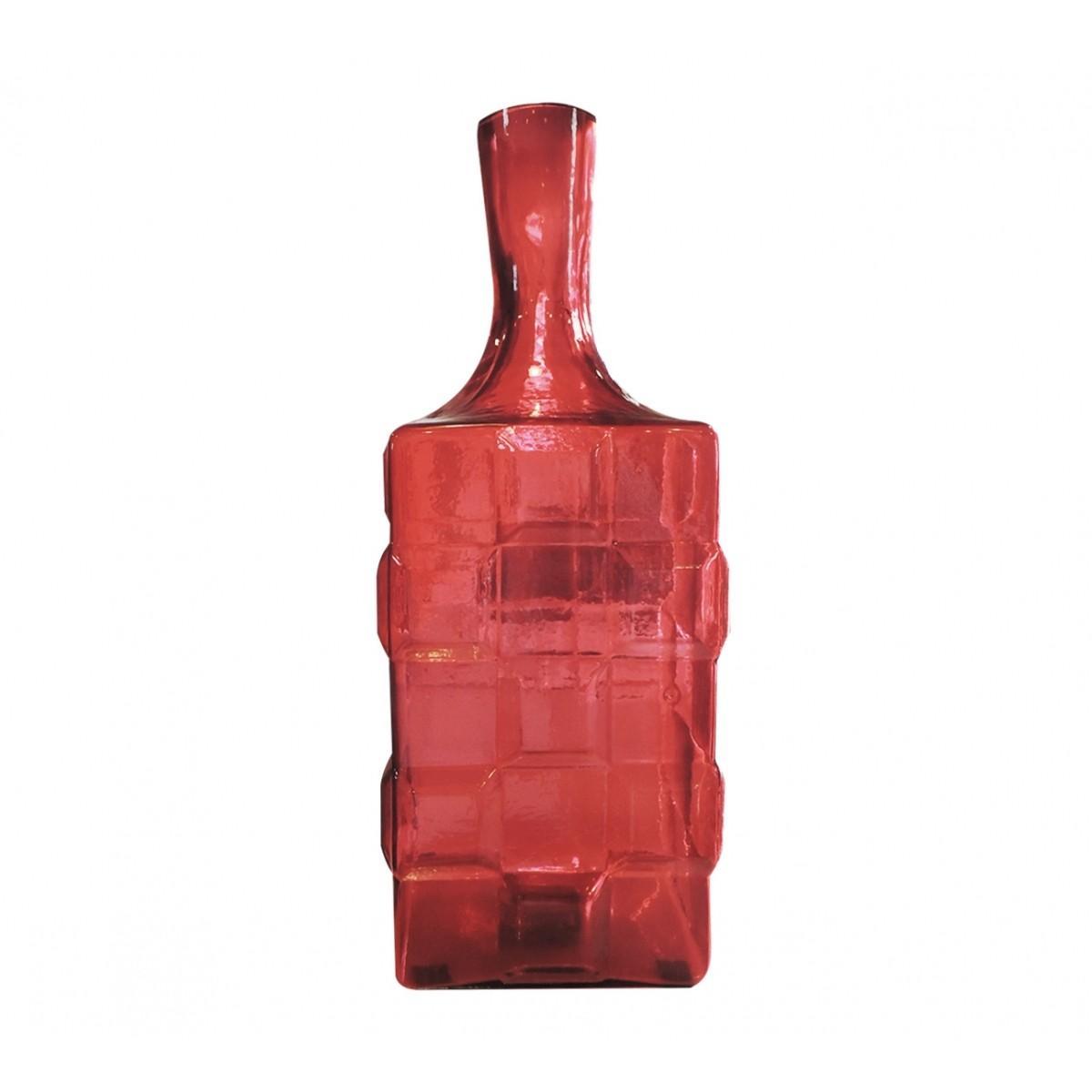 Garrafão de Vidro Quadriart Vermelho  - N Store