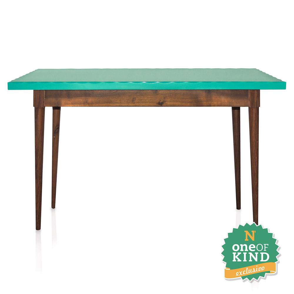 Aparador em madeira e laca verde turquesa N Store Móveis e Decoraç u00e3o~ Aparador Laca