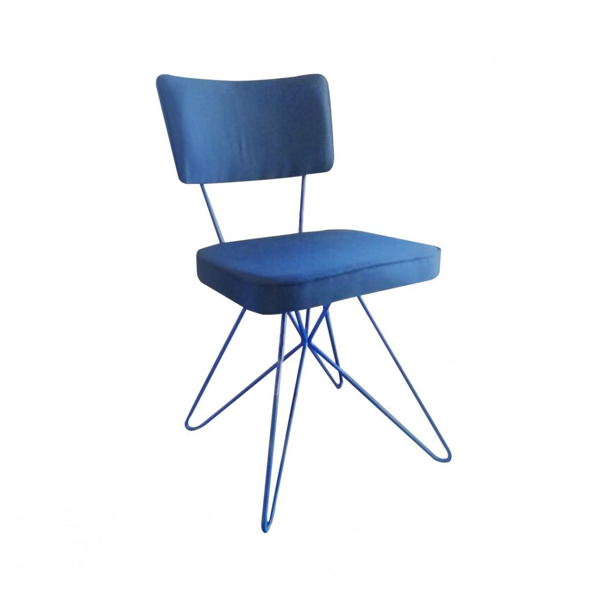 Cadeira Butterfly Retro Azul  - N Store