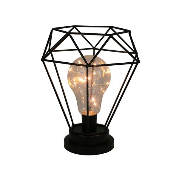 Luminária Preciosa de Mesa em Metal  - N Store