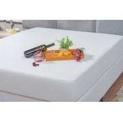 Capa Protetor Impermeável Branca para Colchão Solteiro Box