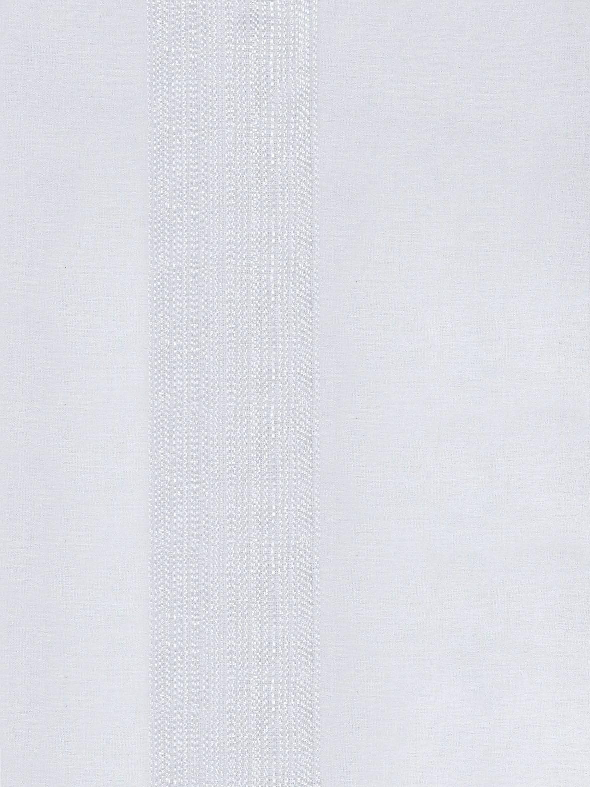 CORTINA VOAL TRABALHADO PARA VARÃO SIMPLES CROMADO 2,00 x 2,50 SALA E QUARTO TEXTURE - BRANCO  - Rose Jordão