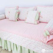 Kit cama auxiliar Floral