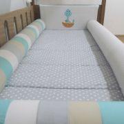 Kit cama solteiro montessoriano - 4 peças
