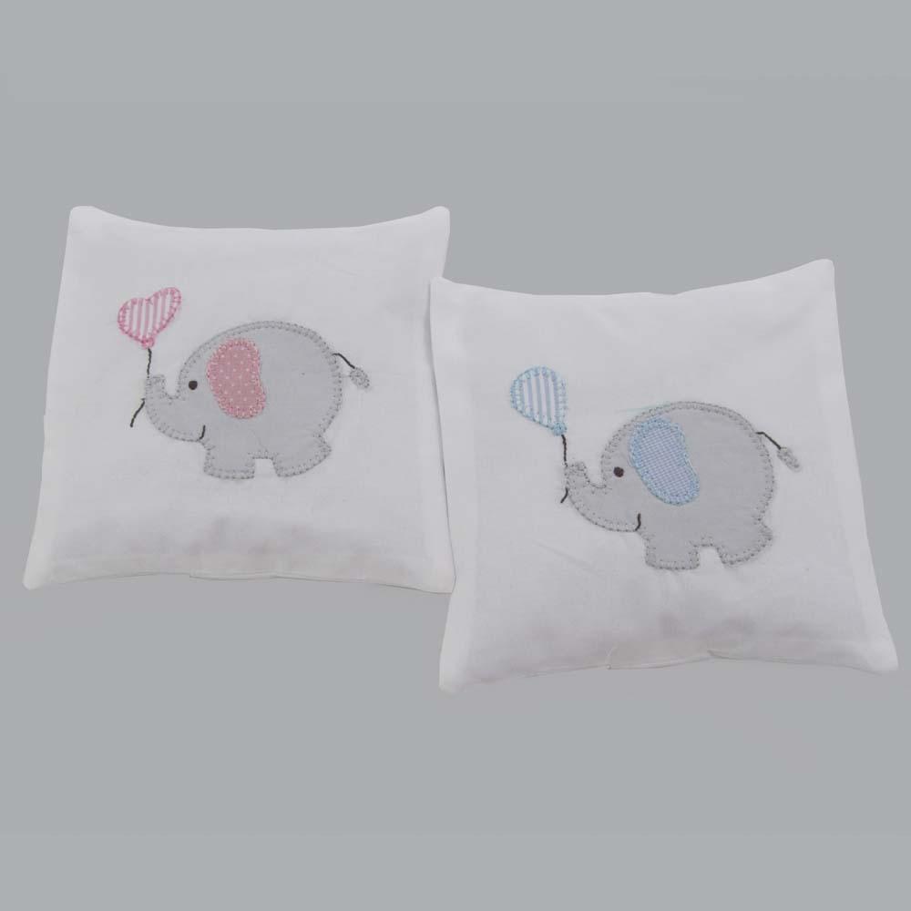 Almofada térmica elefante Lele  - Gatinhando Quarto dos Sonhos