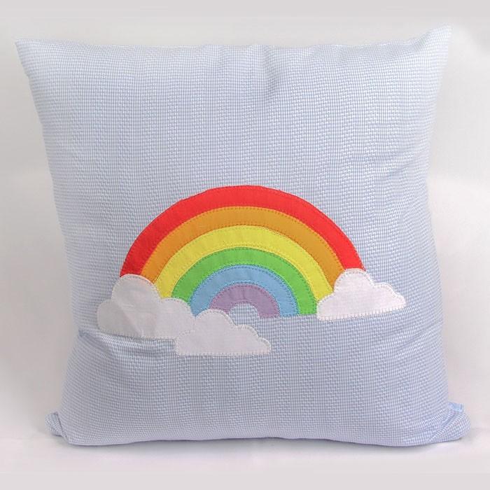 Almofada Decorativa Arco Iris  - Gatinhando Quarto dos Sonhos