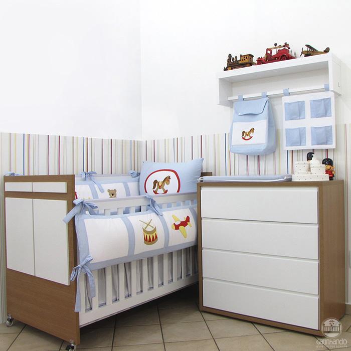 Porta Fraldas 2 peças Brinquedos  - Gatinhando Quarto dos Sonhos