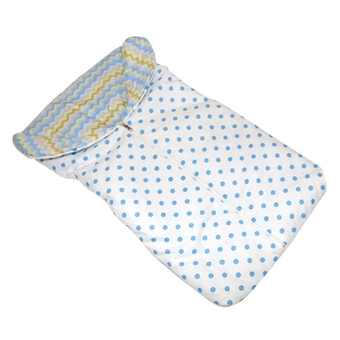 Saco de dormir para bebes chevron colorido   - Gatinhando Quarto dos Sonhos