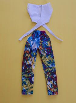 Conjunto de Calça e Blusa para Pullip / Barbie  - CANTINHO DA MANDINHA