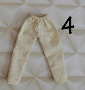 Calça de tecido   - CANTINHO DA MANDINHA