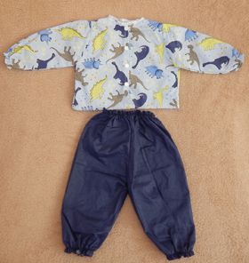 Conjunto de calça e blusa  - CANTINHO DA MANDINHA