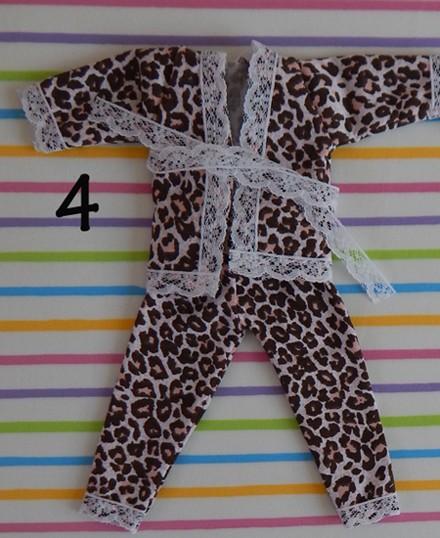 Pijama em malha  para Blythe  - CANTINHO DA MANDINHA