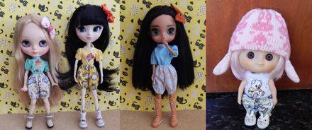 Shorts para dolls 2  - CANTINHO DA MANDINHA