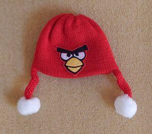 Touca Angry Birds para MMC  - CANTINHO DA MANDINHA