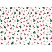 Placa Festas Natal 40x60cm