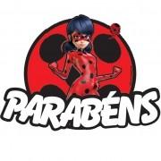 LADYBUG - PAINEL PARABÉNS    71X51,6CM