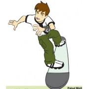 Painel Ben 10 Skate