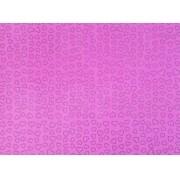 Placa Coração Prata Fundo Rosa 40x60cm
