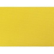 Placa de Bolinhas Pequena de 1mm Preta Fundo Amarelo 40x60cm
