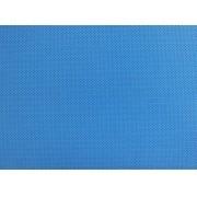 Placa de Bolinhas Pequena de 1mm Marrom Fundo Azul  40x60cm
