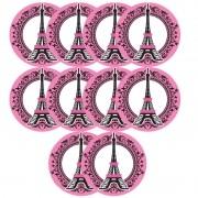 PARIS - APLIQUE COM 10 UNIDADES   3,0X3,0CM