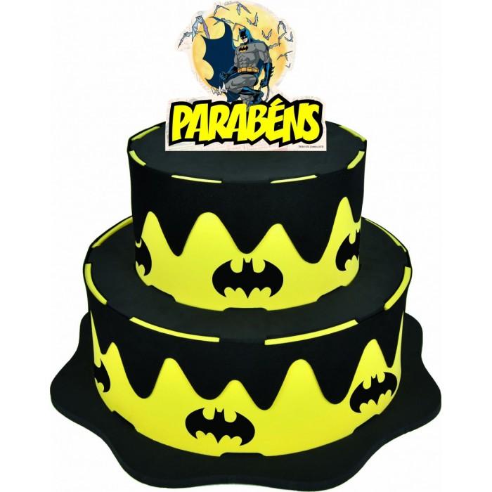 Bolo Batman  - Brindes Visão loja