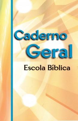 Caderno geral da EBD  - Distribuidora EBD