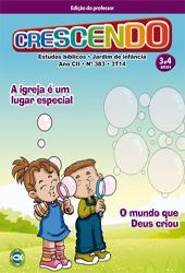 Crescendo (Professor) - 3º Trimestre 2014  - Distribuidora EBD