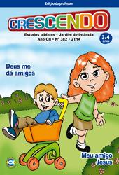 Crescendo (Professor) - 2º Trimestre 2014  - Distribuidora EBD