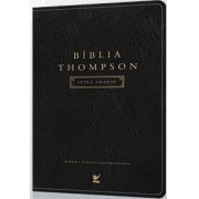 B�blia Thompson Letra Grande - Preta