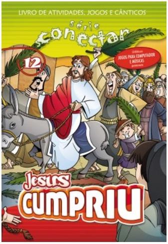 12 - Jesus cumpriu (LIVRO/CD)  - Distribuidora EBD