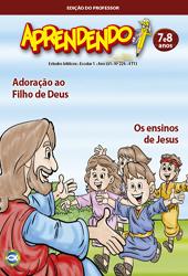 Aprendendo (Professor) - 4º Trimestre 2013  - Distribuidora EBD